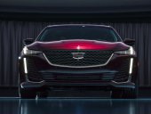 Cadillac CT5 sedan ahead of its April debut