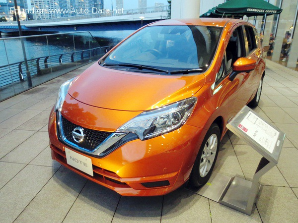 Nissan Note II (facelift 2017) 1.2 DIG-S (98 Hp) CVT - Technical Specs, Fuel consumption, Dimensions