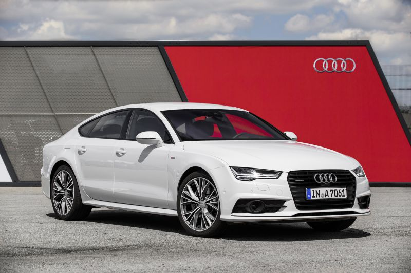 Audi A7 Sportback (C7 facelift 2014) 3.0 TDI V6 clean diesel (272 Hp) quattro S tronic - Technical Specs, Fuel consumption, Dimensions