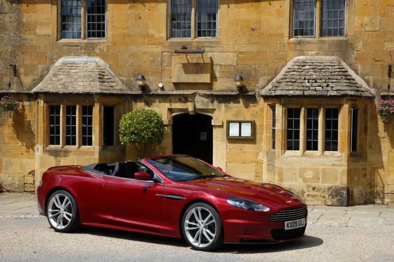 2009 Aston Martin Dbs V12 Volante 5 9 517 Ps Technische Daten Verbrauch Spezifikationen Maße