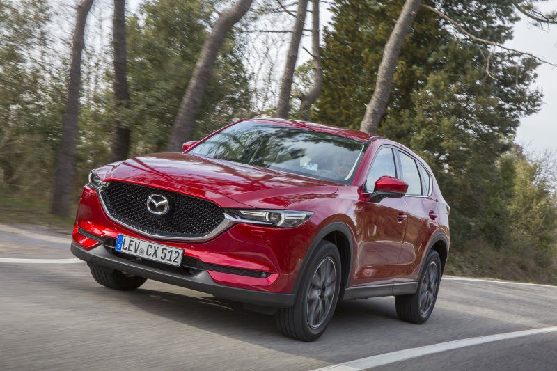 Mazda CX-5 II - Technical Specs, Fuel consumption, Dimensions