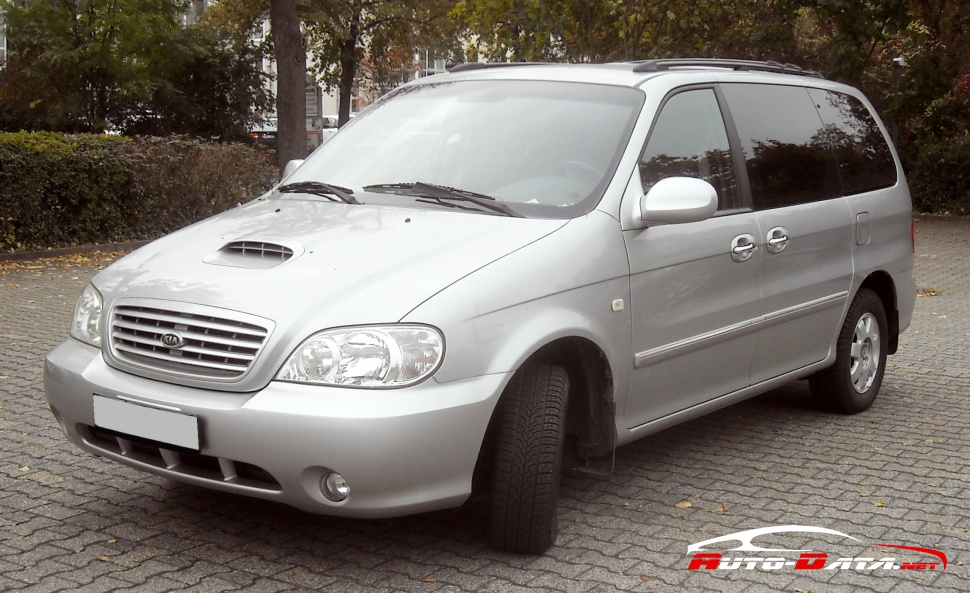 Kia Carnival I  Up  Gq  Facelift 2001  2 9 Crdi  144 Hp