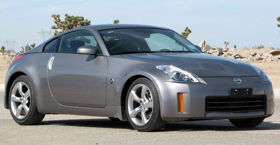 Nissan 350 Z facelift grey