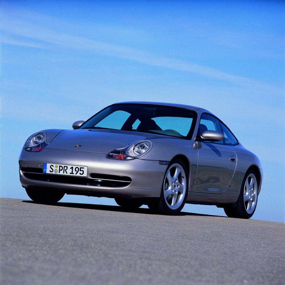 1998 Porsche 911 Interior: Carrera 4 3.4 (300 Hp) AWD