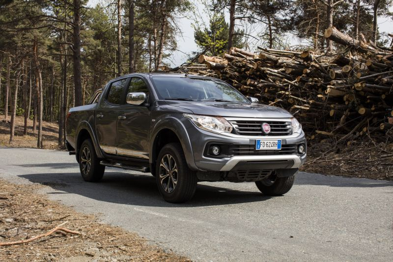 Fiat Fullback Double Cab LX 2.4d (181 Hp) AWD - Technical Specs, Fuel consumption, Dimensions