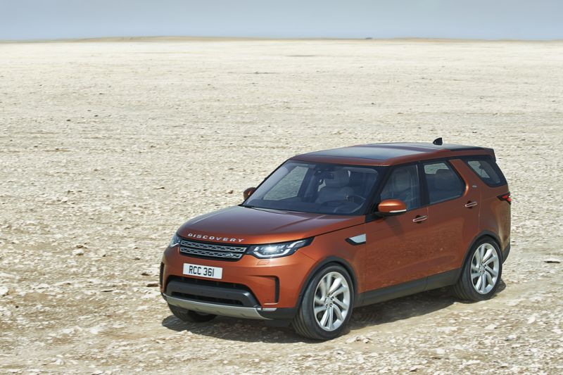 2017 Land Rover Discovery V - Photo 1