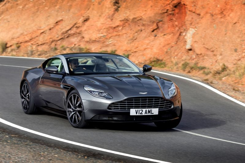 aston martin - db11 - technical specifications, fuel economy