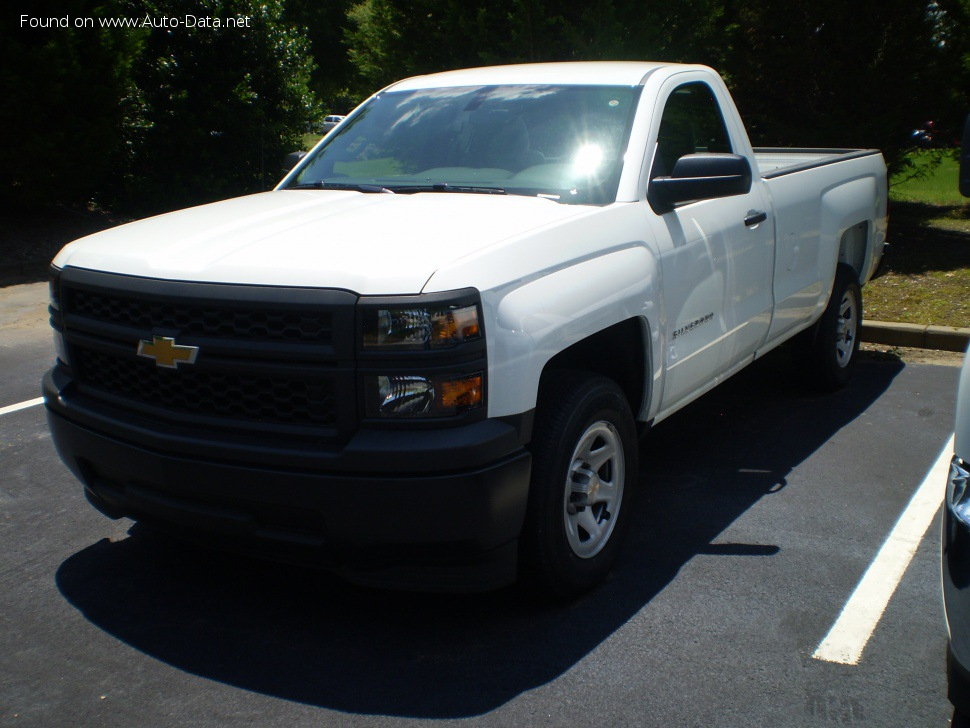 2014 Chevrolet Silverado 1500 Regular Cab III - Photo 1