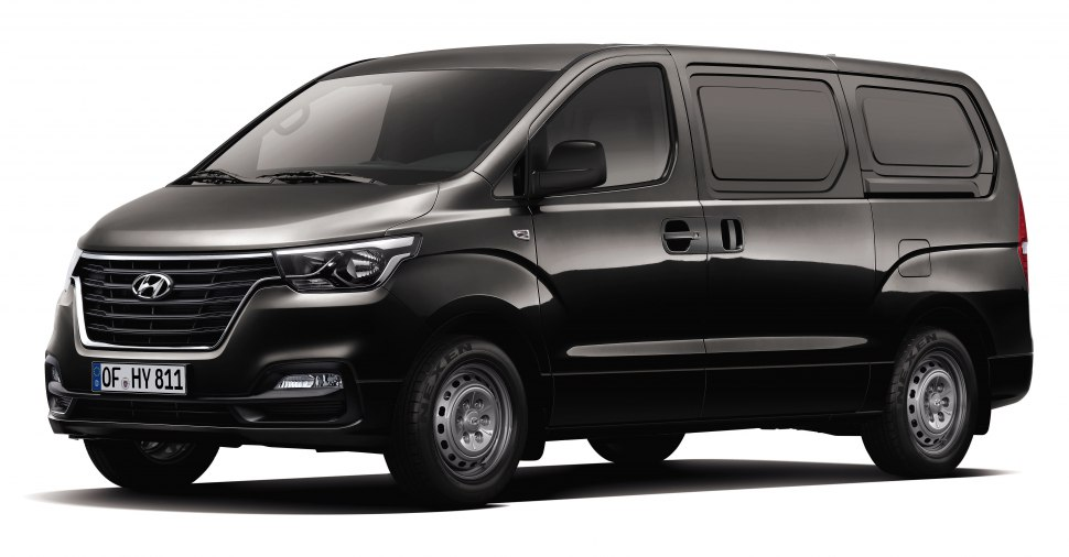 Hyundai H-1 II Cargo (facelift 2018) 2.5 CRDi (170 Hp) Automatic - Technical Specs, Fuel consumption, Dimensions