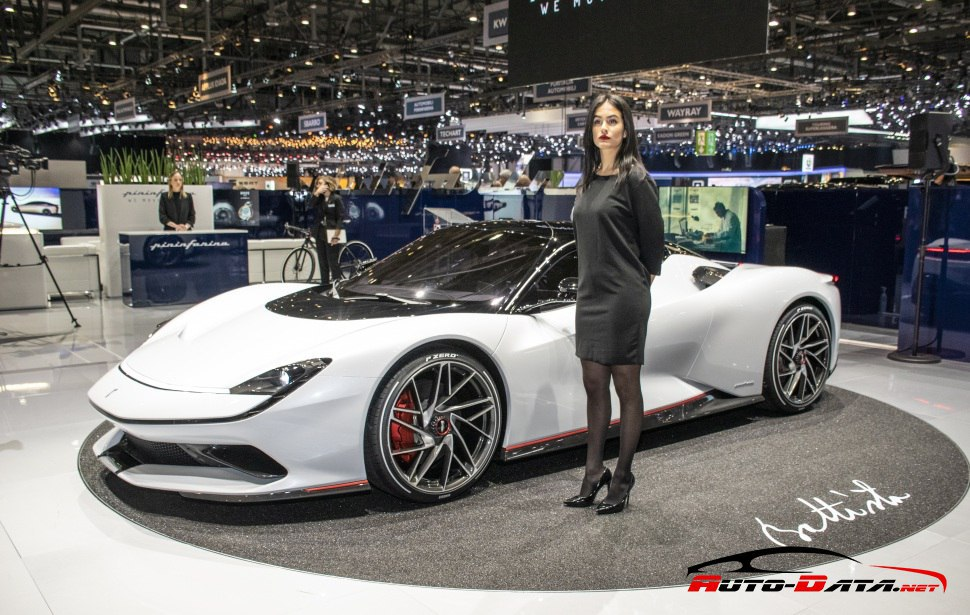 Pininfarina Battista ready to debut a special anniversary edition at GIMS 2020