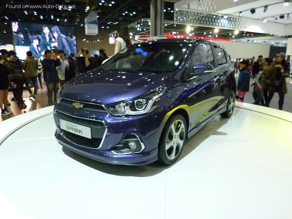 Chevrolet Spark   Technical Specs, Fuel consumption, Dimensions