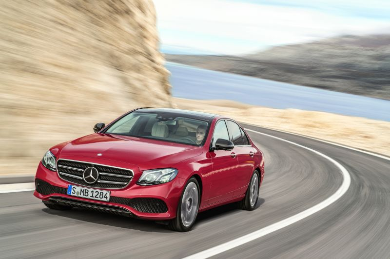 Mercedes-Benz E-class (W213) E 220d (194 Hp) 4MATIC G-TRONIC - Technical Specs, Fuel consumption, Dimensions