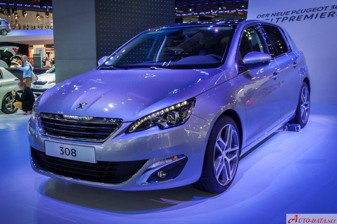 Peugeot 308 II GTi 1.6 THP (250 Hp) - Technical Specs, Fuel consumption, Dimensions