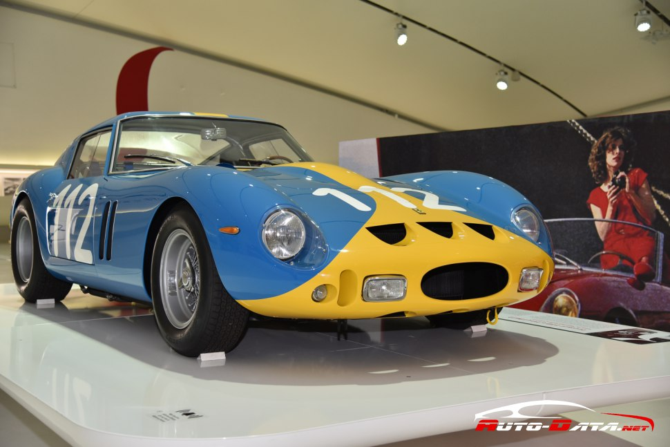 Ferrari 250  GTO from  1962 at Ferrari's museum in Modena