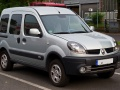 Renault Kangoo I (KC, facelift 2003) 1.2 16V (75 Hp) - Technical Specs, Fuel consumption, Dimensions