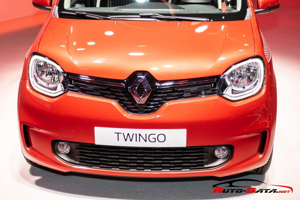 Renault Twingo III 2019 close front