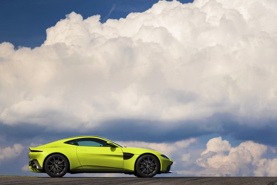 new Aston Martin V8 Vantage sports car