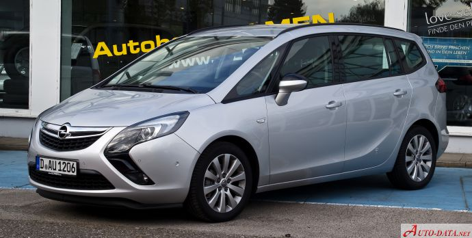 Opel Zafira Tourer C - Technical Specs, Fuel consumption, Dimensions