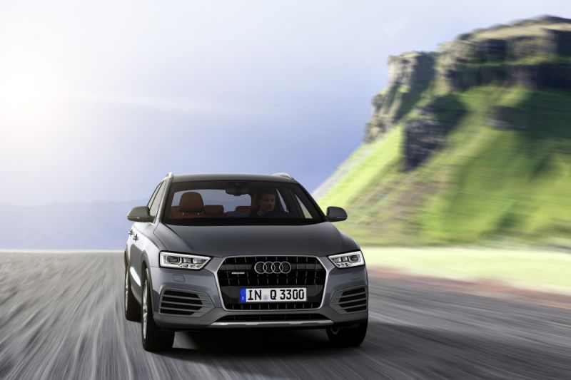 Audi Q3 (8U facelift 2014) 1.4 TFSI ultra (150 Hp) - Technical Specs, Fuel consumption, Dimensions