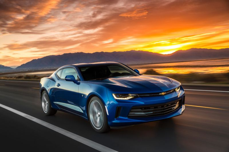 2016 Chevrolet Camaro Vi 6 2 V8 453 Hp Technical Specs Data Fuel Consumption Dimensions