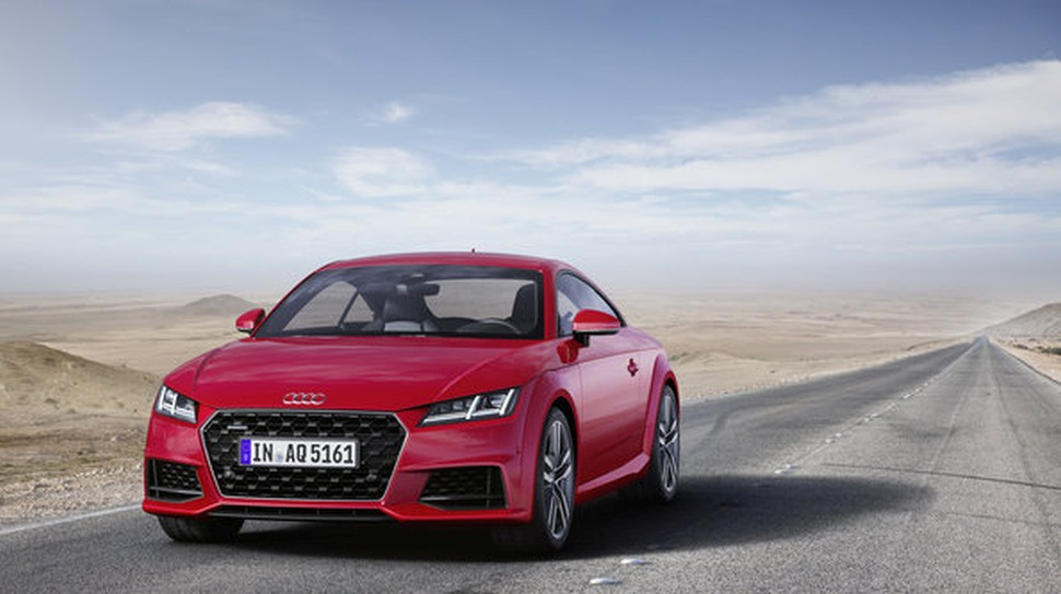 Audi TT Coupe (8S, facelift 2018) - Фото 1