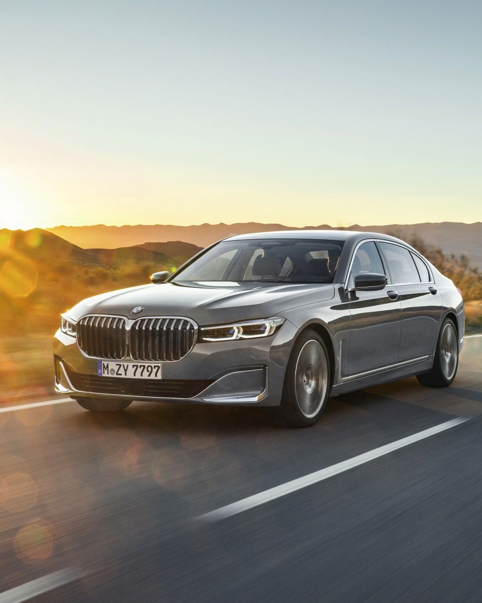 bmw - 7er  g12 lci  facelift 2019  - 750li  530 hp  xdrive steptronic
