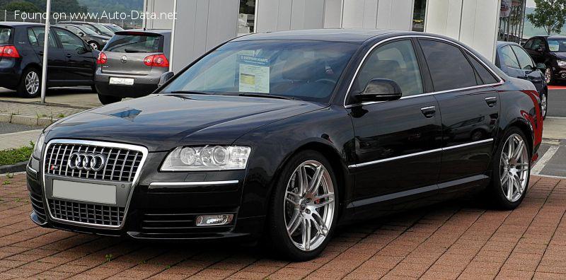 Images of: Audi - S8 (D3, facelift 2007) 1/8