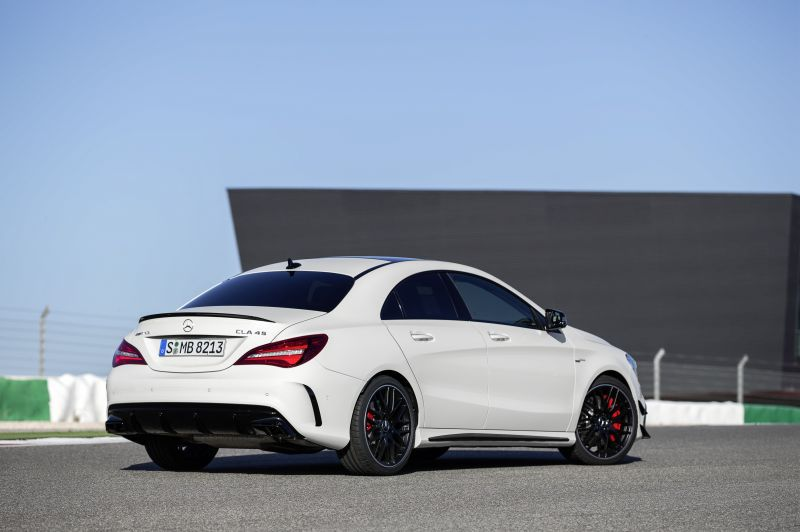 Mercedes Benz   CLA Coupe (C117 Facelift 2016)