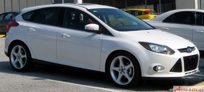 2013 Ford Focus III Hatchback - Снимка 1