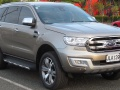 Technische Merkmale der Ford Everest