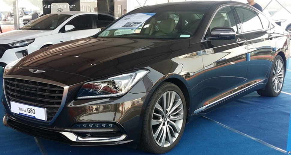 Genesis G80 3.8 GDi (315 Hp) Automatic - Technical Specs, Fuel consumption, Dimensions