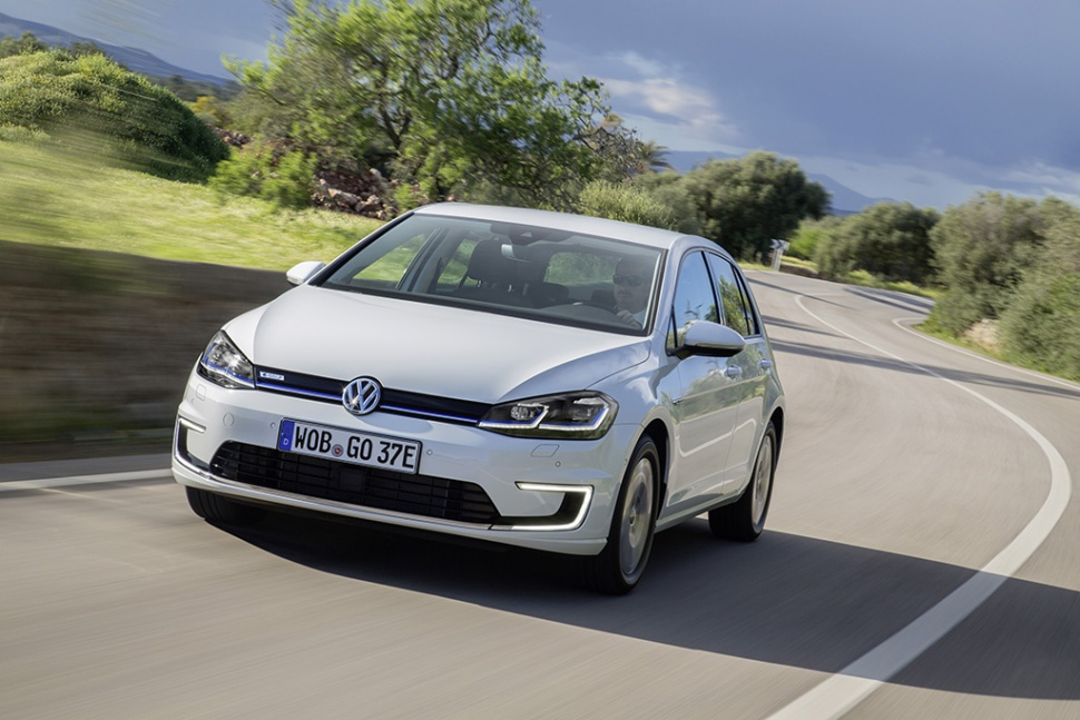 volkswagen - golf - technical specifications, fuel economy (consumption)