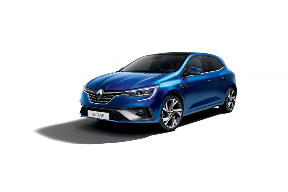 The updated Renault Megane R.S. Line