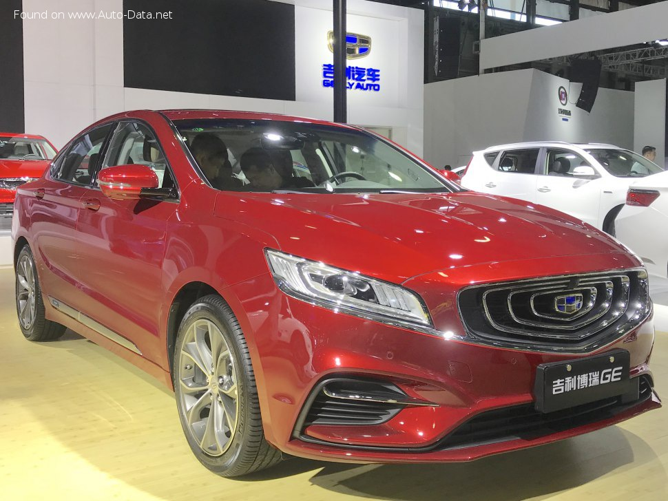 Geely Bo Rui GE 1.5 PHEV (261 Hp) DCT - Technical Specs, Fuel consumption, Dimensions