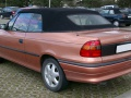 Opel Astra F Cabrio (facelift 1994) 1.6i (75 Hp) Automatic