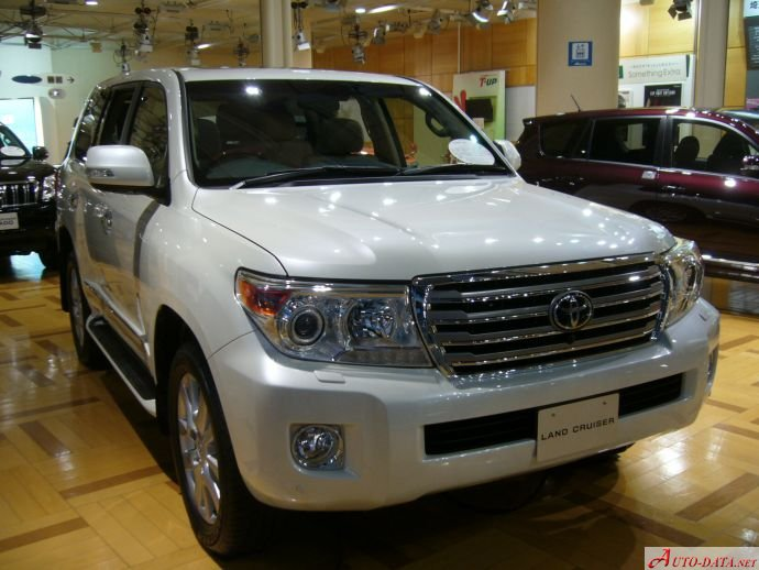 Toyota - Land Cruiser (J200 facelift 2013) - 4.6 V8 (318 Hp) Automatic - Technical specifications, Fuel economy (consumption)