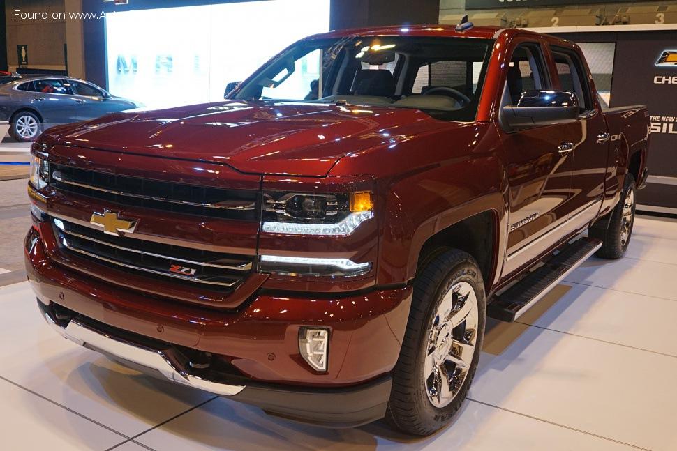 Chevrolet Silverado | Teknik özellikler, Yakıt tüketimi, Boyutlar