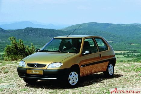 Citroen Saxo - datos