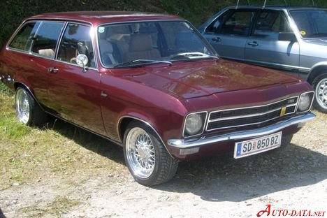 Opel Ascona A Voyage 1.6 N (60 Hp) - Technical Specs, Fuel consumption, Dimensions