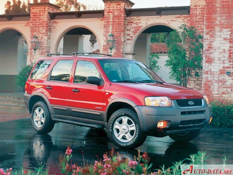ford 2003 escape fuel consumption