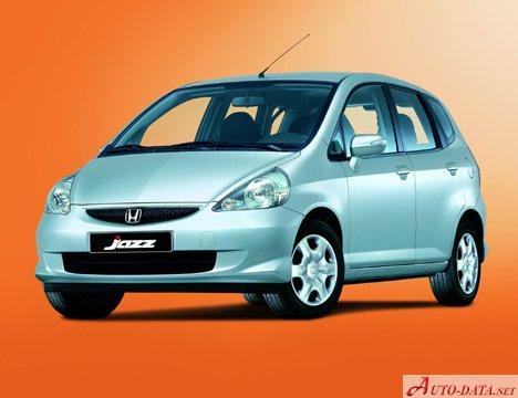 Honda Jazz I 2002 14 83 Hp Technical Specifications Fuel