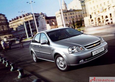 2004 Chevrolet Lacetti Sedan 1 6 I 16v 109 Bg Teknik