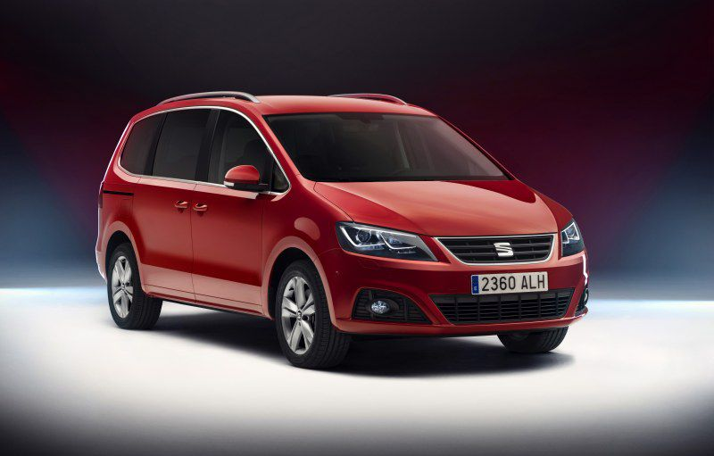 Seat Alhambra Technical Specifications Fuel Economy Consumption