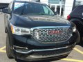 Technical specifications and fuel economy of GMC Acadia