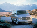 Technical specifications and fuel economy of Chevrolet Astro