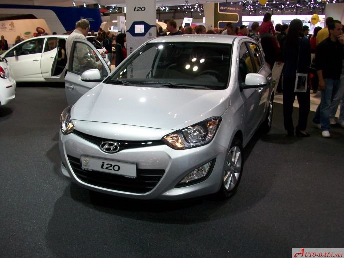 2012 Hyundai i20 I (PB facelift 2012) - Photo 1