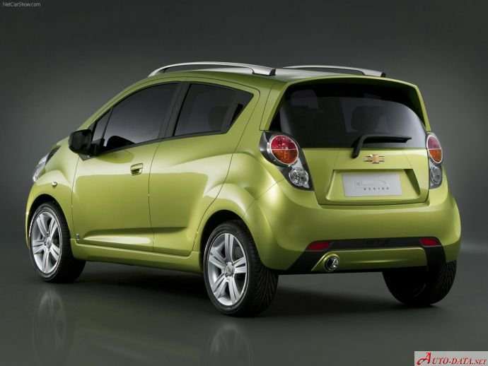 2009 Chevrolet Spark Iii 1 2 16v 81 Hp Technical Specs Data