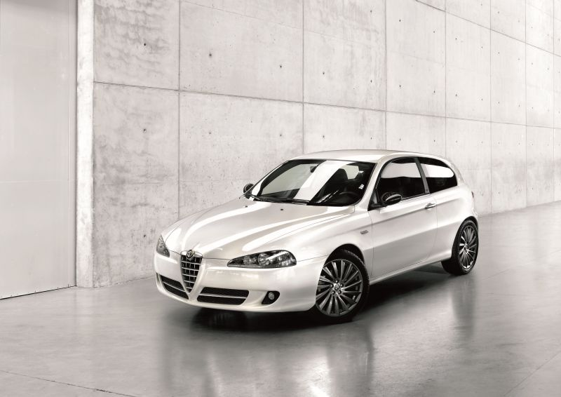 alfa romeo - 147 - technical specifications, fuel economy (consumption)
