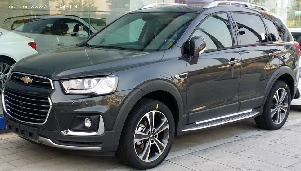 Chevrolet Captiva | Ficha técnica, Consumo, Medidas