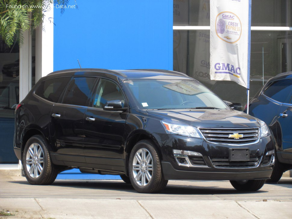 Chevrolet - Traverse I (facelift 2012)